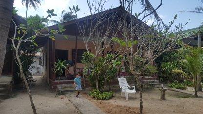 Outside our Villa