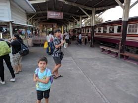 arrival into Thonburi