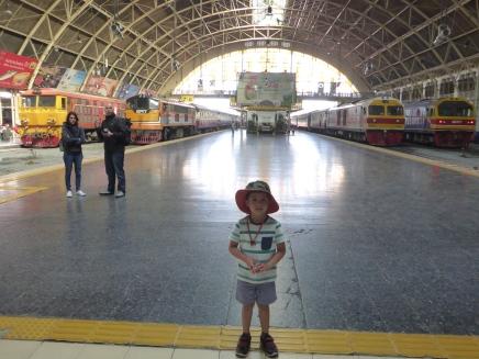 At Hua Lamphong train station
