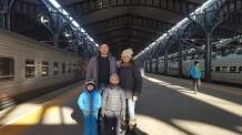 Arrival in Harbin